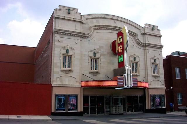 Kansas City Gem Theatre and Boone Theater, Kansas City MO.