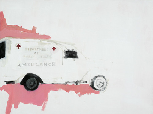 "Jennie Ottinger ""Ambulance (Scene from Farewell to Arms)"""