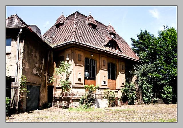 altes verlassenes Haus in Pirna
