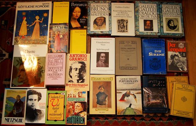 Italian Literature but not in Italian