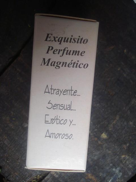 Perfume magnético