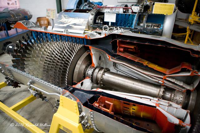 A6 Intruder Jet Engine