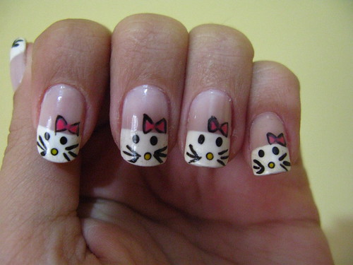 Unhas Decoradas - Helly Kitty | by .Krol.