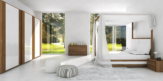 Letto Moderno A Baldacchino.Mazzali Wind Canopy Bed Il Letto A Baldacchino Wind Sk Flickr