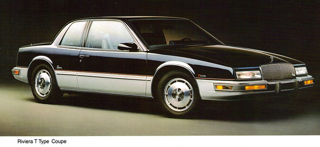 1988 Buick Riviera T-Type