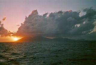 Montserrat Island Sunset