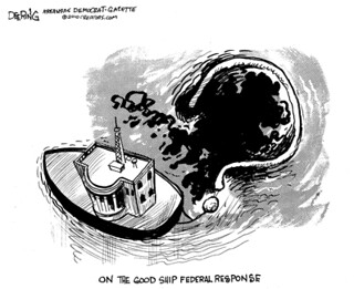 The Good Ship Federal Response