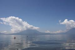 Lake Atitlan swimming