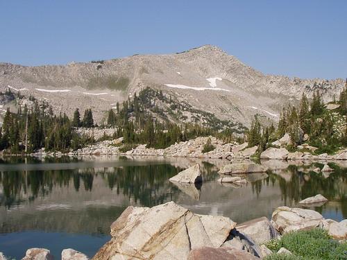 Upper Red Pine Lake.