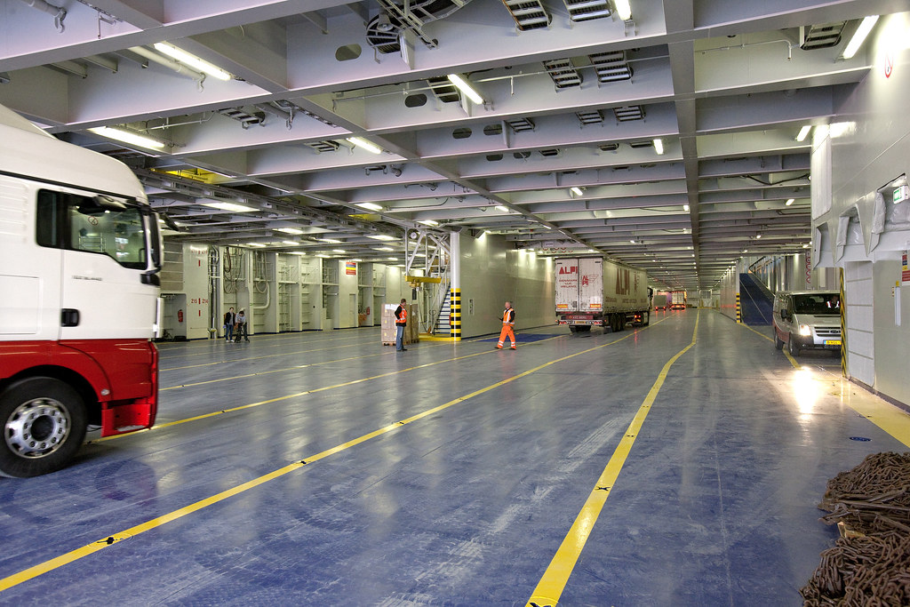 On the car deck of Superferry Stena Hollandica   Superferry …   Flickr