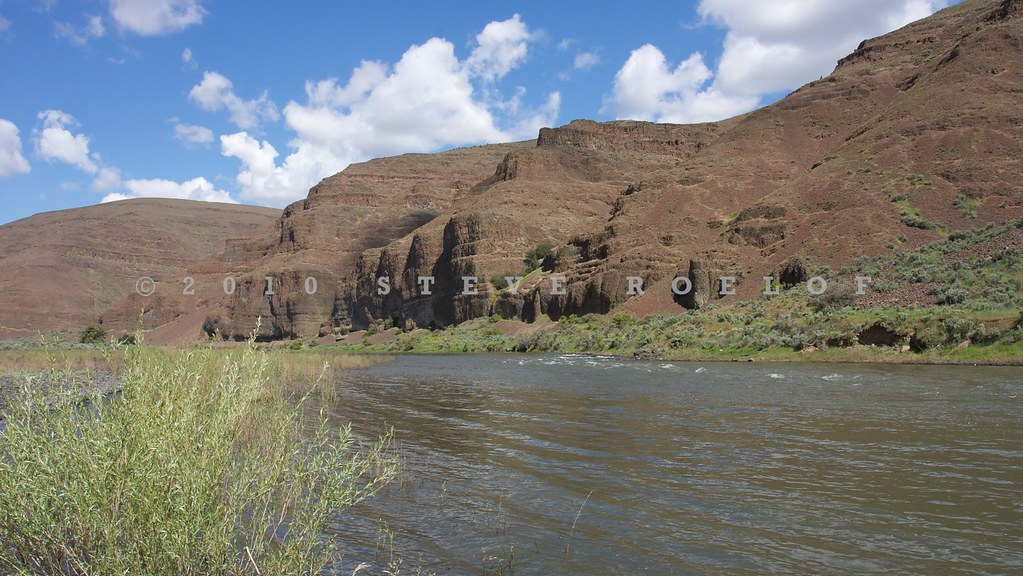 The John Day River Flows Through