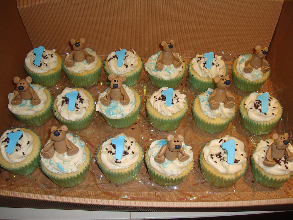 1 Year Old Boy Birthday Cupcakes