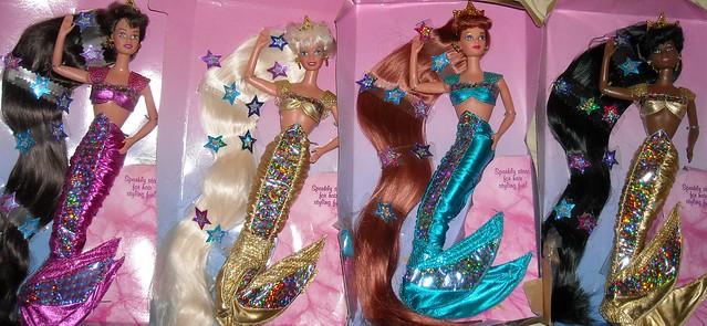 Mermaid Barbies