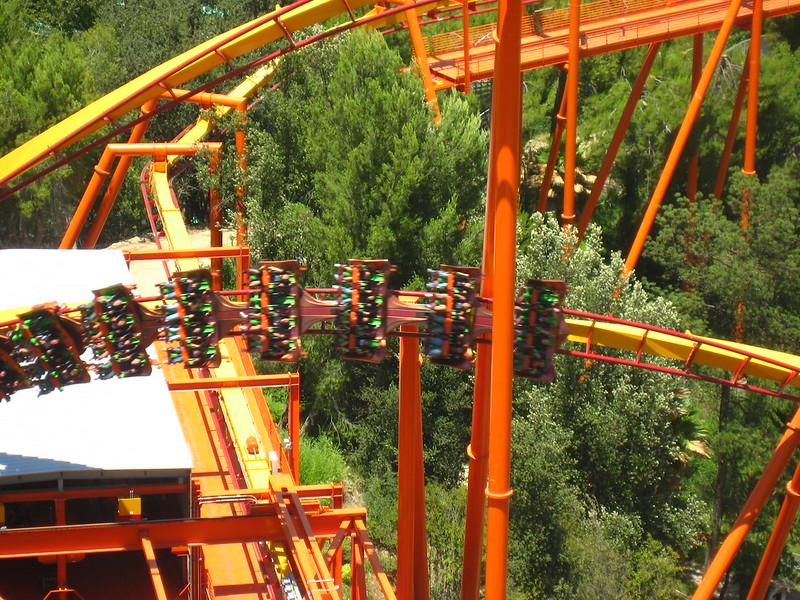 Six Flags Magic Mountain - Tatsu Aerial