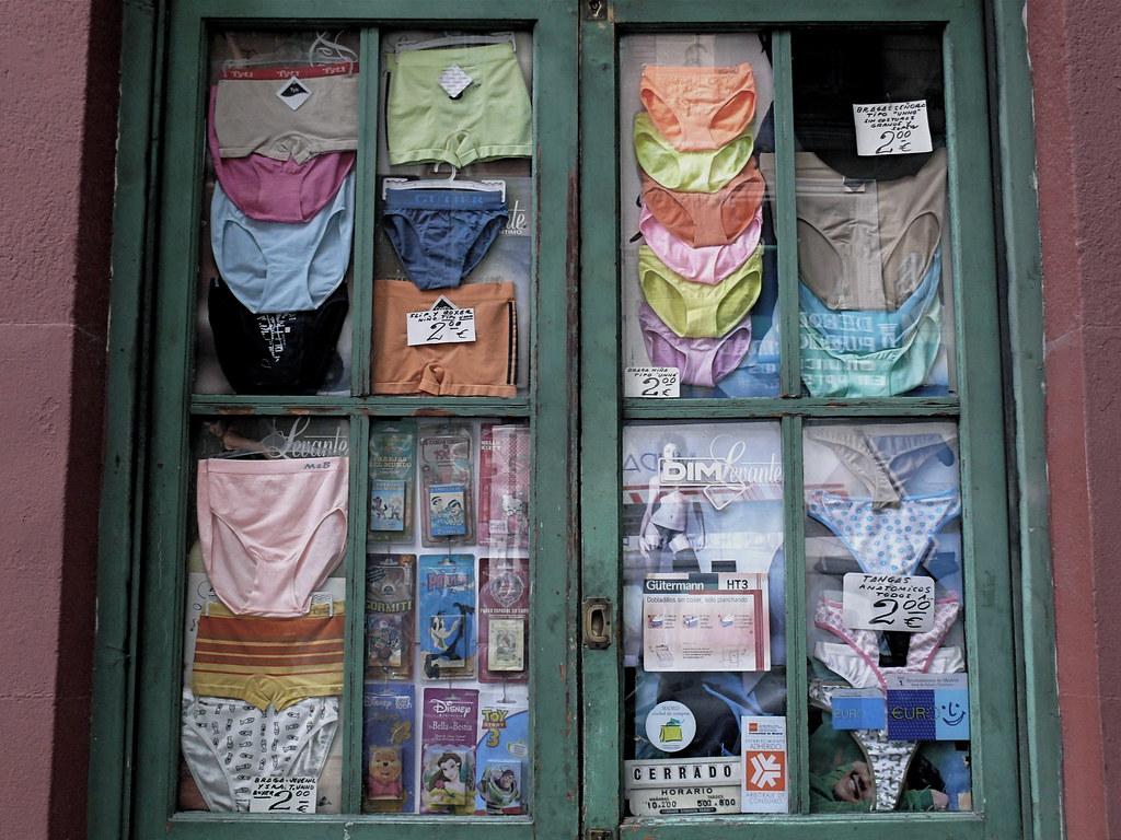 Panties Exposed