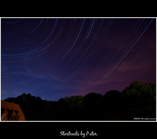 Startrails @ Home by pDOTeter