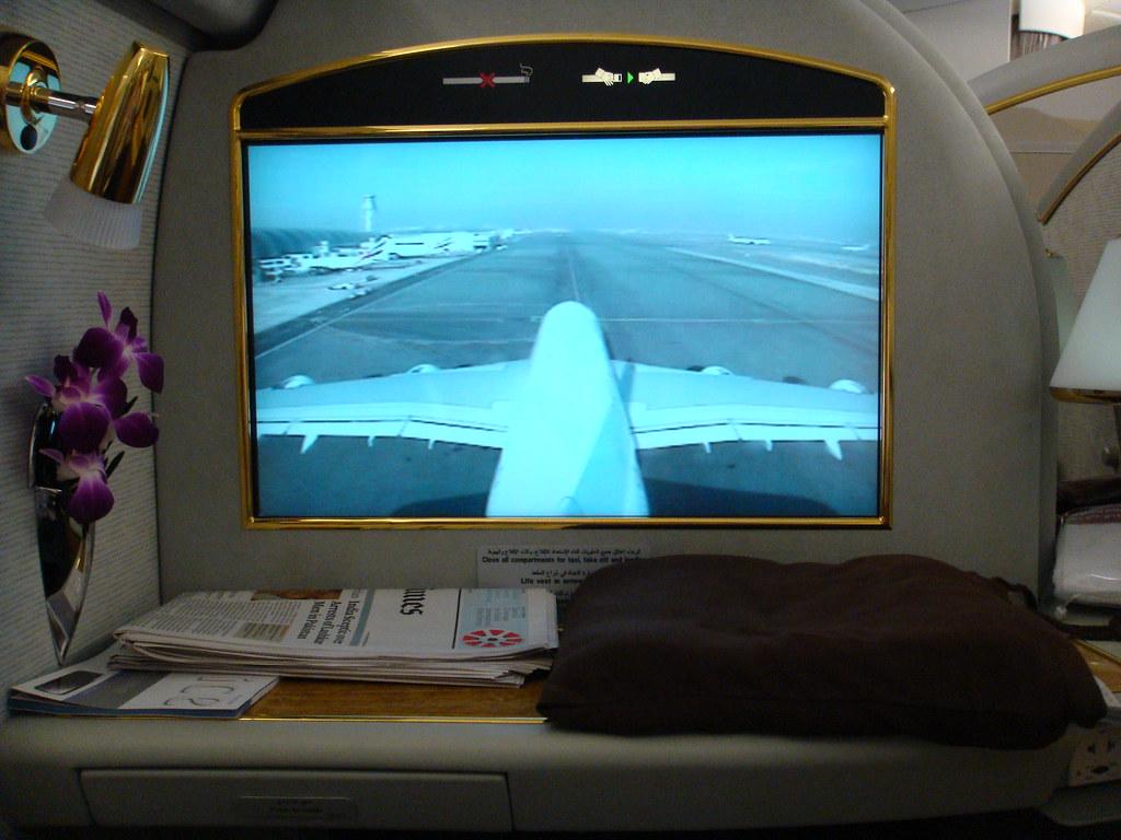 Emirates Airbus A380 Interior Shot Taken By My Friend Ange Flickr