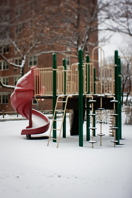 NYC:Queens: Frozen slide