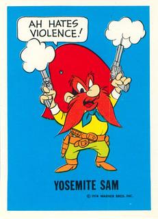 Yosemite Sam Front | by andertoons