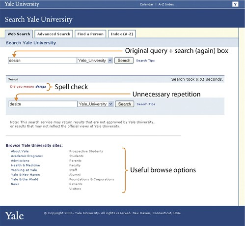 3-03. No results at Yale | by Peter Morville
