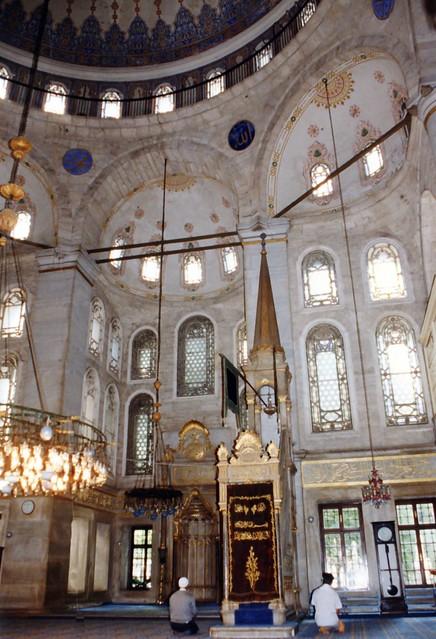 021.06.1997 Istanbul Mosquée d'Eyüp  la salle de prière
