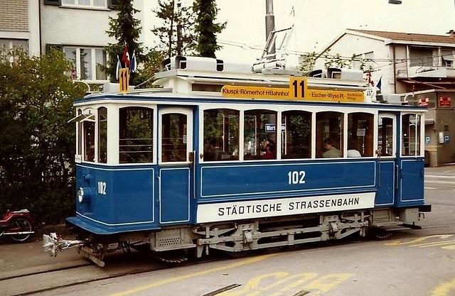 Tram Museum Zürich Depot Wartau