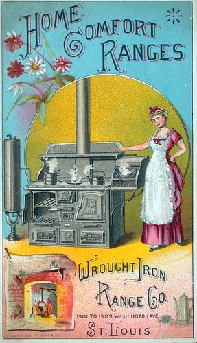 Wrought Iron Range Company ad, late 19th century | by Missouri Historical Society