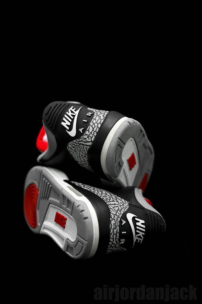 new product dafd8 dc431 Air Jordan Black Cement III   airjordanjack   Flickr