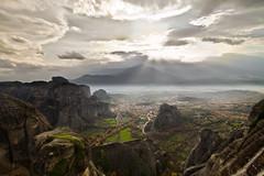 Kastraki with misty background | by NickChino