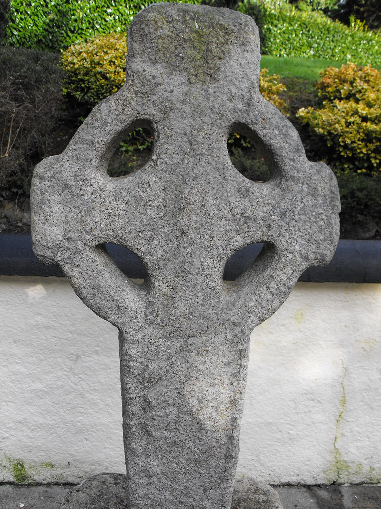 Old Leighlin, Cross, Holy Well and Rag Tree