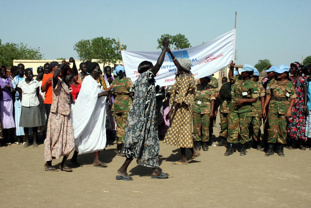 International Women's Day in Abyei