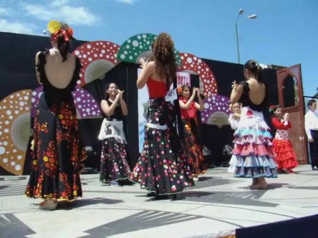 video Concurso de sevillanas 12  feria abril Las Palmas de Gran Canaria