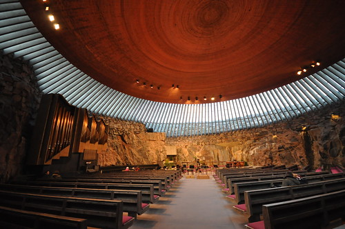 Temppeliaukio Church | by Jorge Lascar