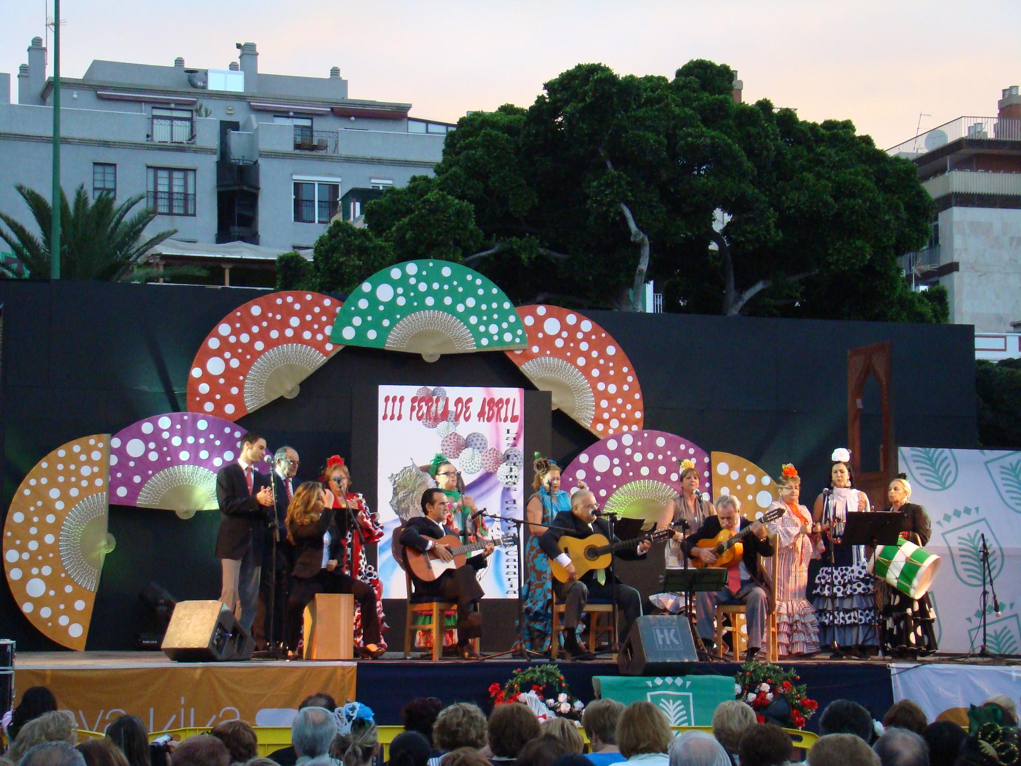 Recinto ferial III Feria de abril Las Palmas de Gran Canaria