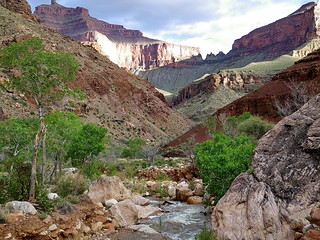 View to southeast from Clear Creek Camp - Grand Canyon | by Al_HikesAZ