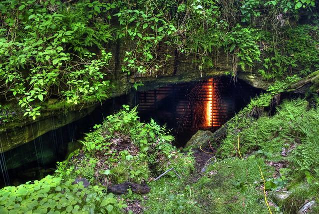 Big Bone Cave Entrance, Big Bone Cave SNA, Van Buren Co, TN
