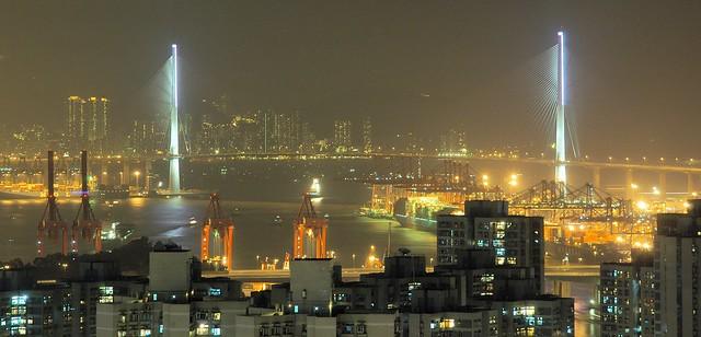 Hong Kong - Stonecutters Bridge