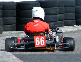 Llandow karting 66   by SARK S-W