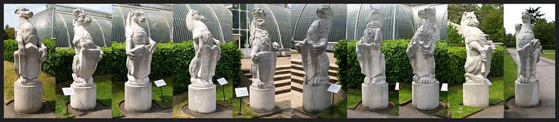 Queen's Beasts at Kew