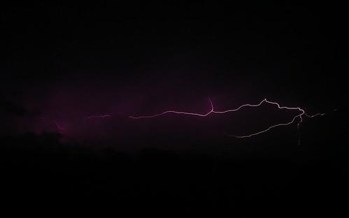 ohio june night spring lightningstormbergholz