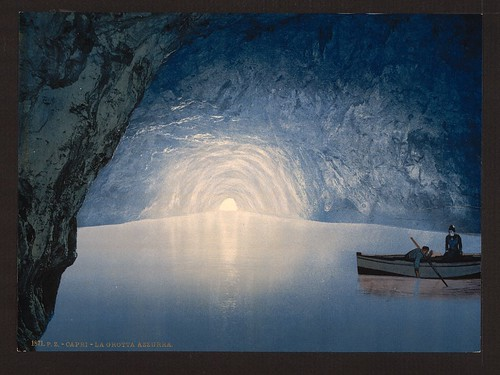 [Blue grotto, Capri Island, Italy] (LOC) | by The Library of Congress