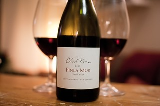2007 Chard Farm 'Finla Mor' Pinot Noir | by Abstract Gourmet