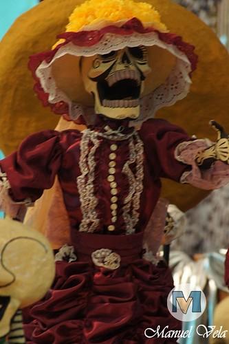 """DSC01892 Centro Histórico de Puebla """"Catrinas, Cartonería Tradicional, Disfraces, Ofrendas"""" *Festividad Día de Muertos* por LAE Manuel Vela"""