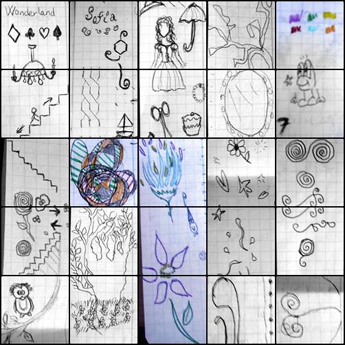 Dibujos De Márgenes A Esto Me Dedico Cuando Me Aburro En C