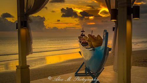 seminyak bali sunrisesunset sunset indonesia beautifulbeach beach