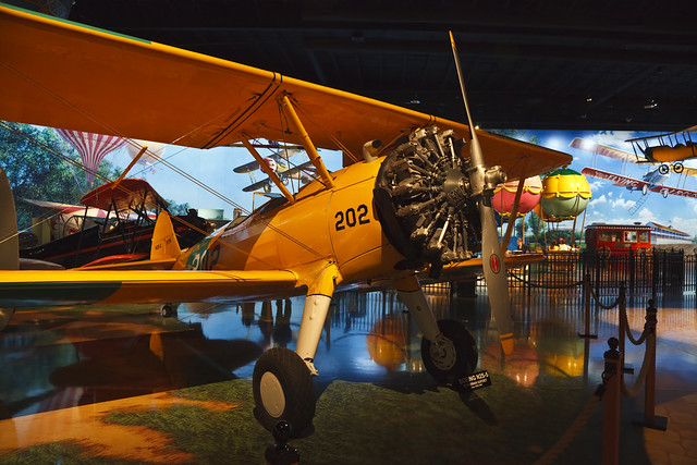Boeing N2S-5 Kaydet at Air Zoo