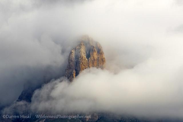 El Cap in the Clouds