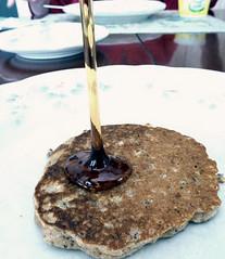 janice - pouring harvest pancakes