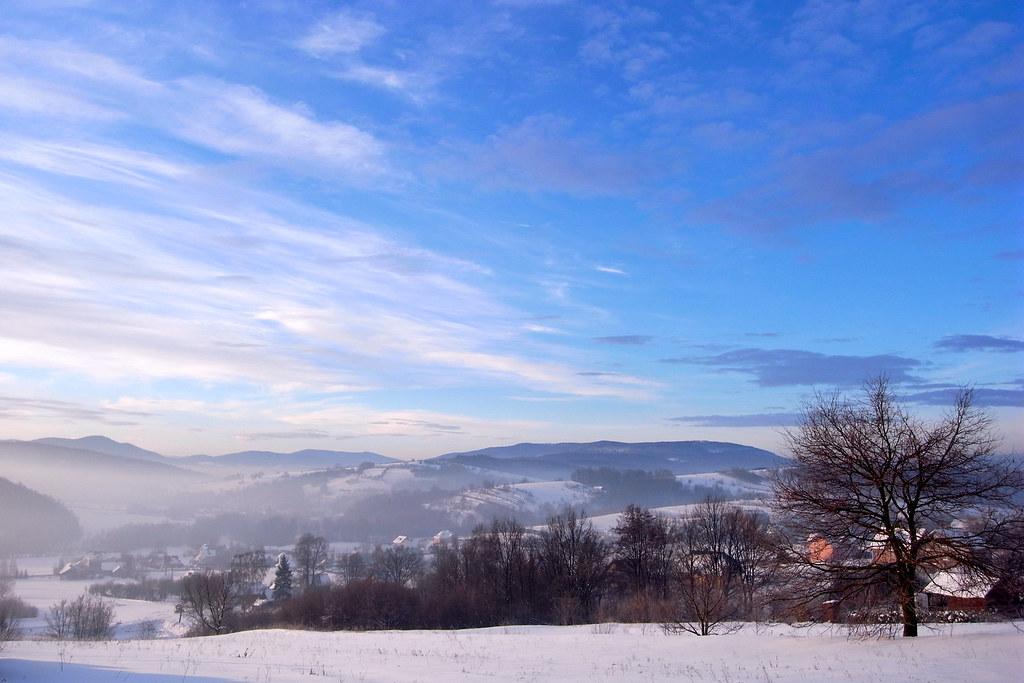 Widok na południe / A view to the South