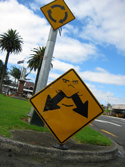 Bad both ways sign